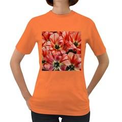 Tulips Flowers Spring Women s Dark T Shirt