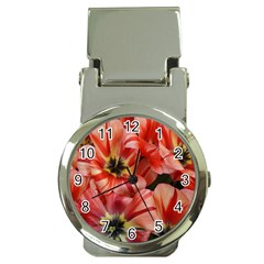 Tulips Flowers Spring Money Clip Watches