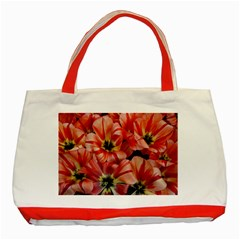 Tulips Flowers Spring Classic Tote Bag (red)