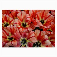Tulips Flowers Spring Large Glasses Cloth (2 Side)