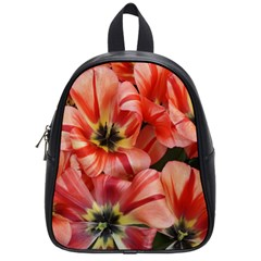 Tulips Flowers Spring School Bag (small)