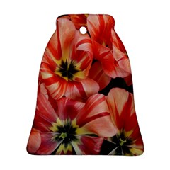 Tulips Flowers Spring Bell Ornament (two Sides)
