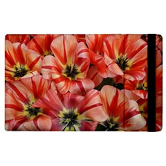 Tulips Flowers Spring Apple Ipad 3/4 Flip Case