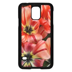 Tulips Flowers Spring Samsung Galaxy S5 Case (black)