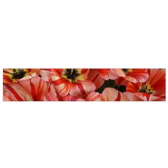 Tulips Flowers Spring Small Flano Scarf