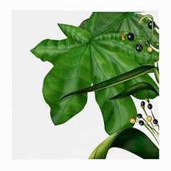 Plant Berry Leaves Green Flower Medium Glasses Cloth