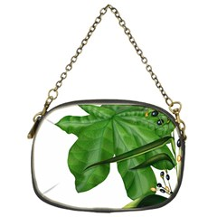Plant Berry Leaves Green Flower Chain Purses (one Side)