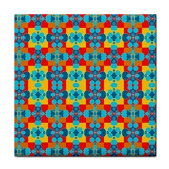 Pop Art Abstract Design Pattern Tile Coasters