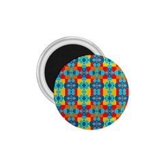 Pop Art Abstract Design Pattern 1 75  Magnets