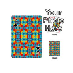 Pop Art Abstract Design Pattern Playing Cards 54 (mini)