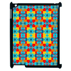 Pop Art Abstract Design Pattern Apple Ipad 2 Case (black)