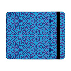 Monogram Blue Purple Background Samsung Galaxy Tab Pro 8 4  Flip Case