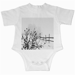 Snow Winter Cold Landscape Fence Infant Creepers