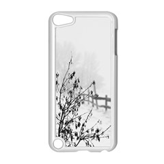 Snow Winter Cold Landscape Fence Apple Ipod Touch 5 Case (white)