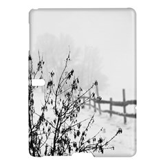 Snow Winter Cold Landscape Fence Samsung Galaxy Tab S (10 5 ) Hardshell Case