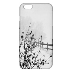 Snow Winter Cold Landscape Fence Iphone 6 Plus/6s Plus Tpu Case