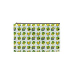 St Patrick S Day Background Symbols Cosmetic Bag (small)