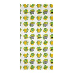St Patrick S Day Background Symbols Shower Curtain 36  X 72  (stall)