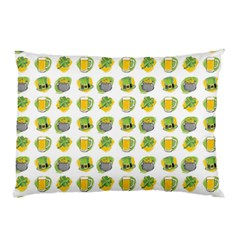 St Patrick S Day Background Symbols Pillow Case (two Sides)