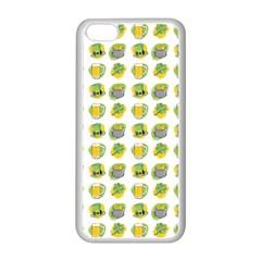 St Patrick S Day Background Symbols Apple Iphone 5c Seamless Case (white)