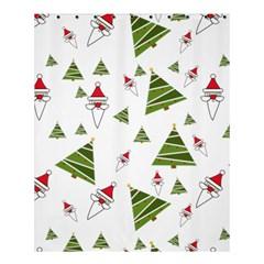 Christmas Santa Claus Decoration Shower Curtain 60  X 72  (medium)