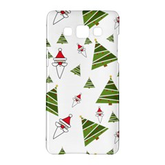 Christmas Santa Claus Decoration Samsung Galaxy A5 Hardshell Case