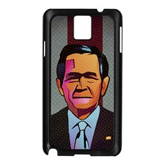 George W Bush Pop Art President Usa Samsung Galaxy Note 3 N9005 Case (black)