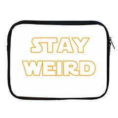 Stay Weird Apple Ipad 2/3/4 Zipper Cases