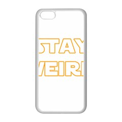 Stay Weird Apple Iphone 5c Seamless Case (white)