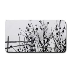 Snow Winter Cold Landscape Fence Medium Bar Mats