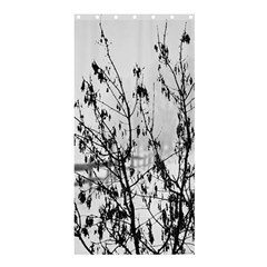 Snow Winter Cold Landscape Fence Shower Curtain 36  X 72  (stall)