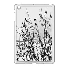 Snow Winter Cold Landscape Fence Apple Ipad Mini Case (white)