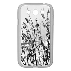 Snow Winter Cold Landscape Fence Samsung Galaxy Grand Duos I9082 Case (white)