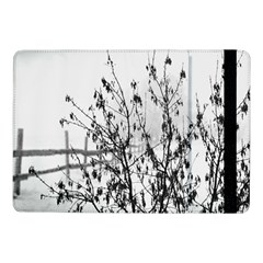 Snow Winter Cold Landscape Fence Samsung Galaxy Tab Pro 10 1  Flip Case