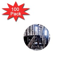 House Old Shed Decay Manufacture 1  Mini Magnets (100 Pack)