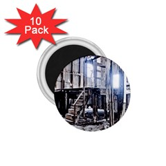 House Old Shed Decay Manufacture 1 75  Magnets (10 Pack)