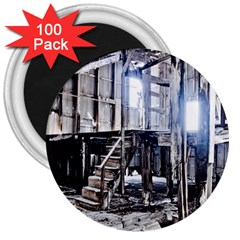 House Old Shed Decay Manufacture 3  Magnets (100 Pack)
