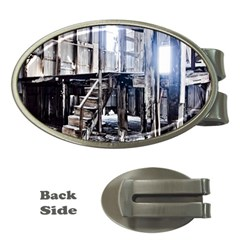 House Old Shed Decay Manufacture Money Clips (oval)