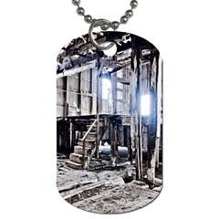 House Old Shed Decay Manufacture Dog Tag (one Side)
