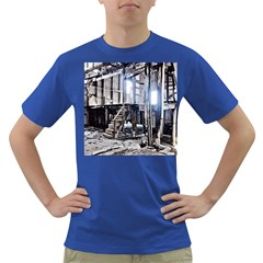 House Old Shed Decay Manufacture Dark T Shirt