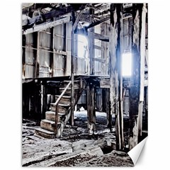 House Old Shed Decay Manufacture Canvas 12  X 16