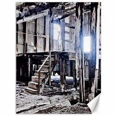 House Old Shed Decay Manufacture Canvas 36  X 48