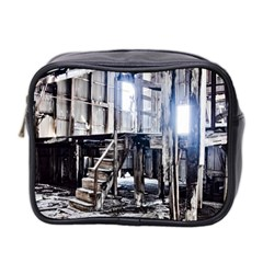 House Old Shed Decay Manufacture Mini Toiletries Bag 2 Side