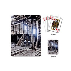 House Old Shed Decay Manufacture Playing Cards (mini)
