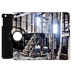 House Old Shed Decay Manufacture Apple Ipad Mini Flip 360 Case
