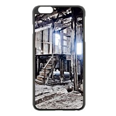 House Old Shed Decay Manufacture Apple Iphone 6 Plus/6s Plus Black Enamel Case