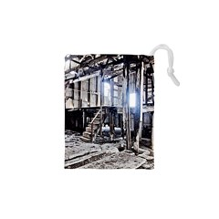 House Old Shed Decay Manufacture Drawstring Pouches (xs)