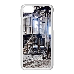 House Old Shed Decay Manufacture Apple Iphone 8 Seamless Case (white)