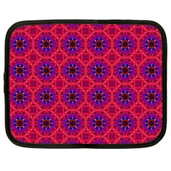 Retro Abstract Boho Unique Netbook Case (large)