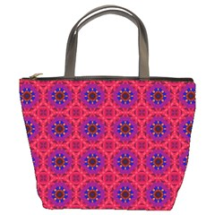 Retro Abstract Boho Unique Bucket Bags
